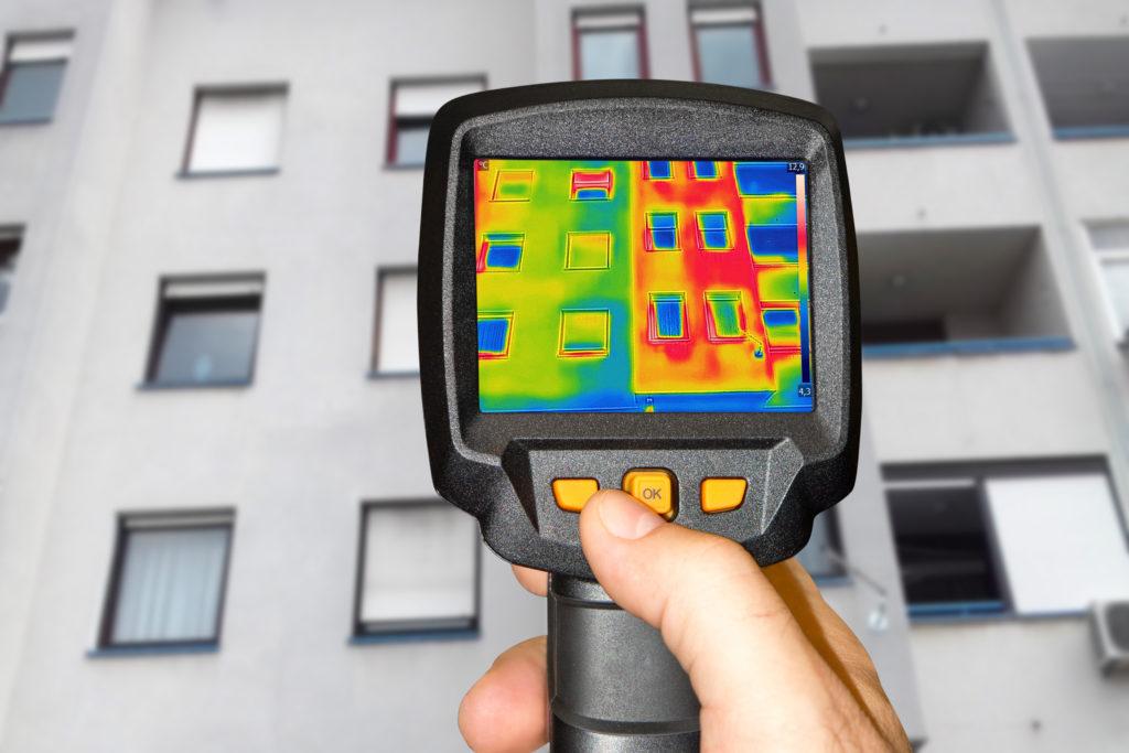 非破壊調査の1つ赤外線調査イメージ画像